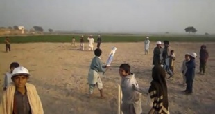 Cricket Match of Affected Children Ghotki by RDPI & PLAN International Pakistan
