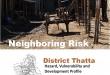 Rural Profiling - District Profile Thatta
